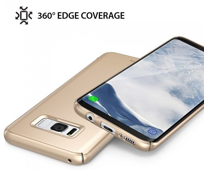 Husa Ringke Slim Blue Pearl pentru Samsung Galaxy S8 Plus 3