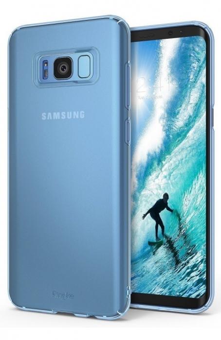 Husa Ringke Slim Frost Blue pentru Samsung Galaxy S8 Plus 6