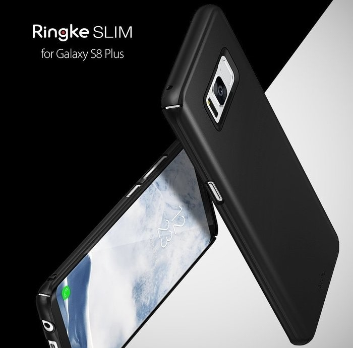 Husa Ringke Slim Frost Pink pentru Samsung Galaxy S8 Plus 1