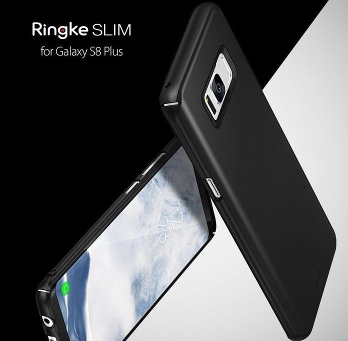 Husa Ringke Slim Frost White pentru Samsung Galaxy S8 Plus 5
