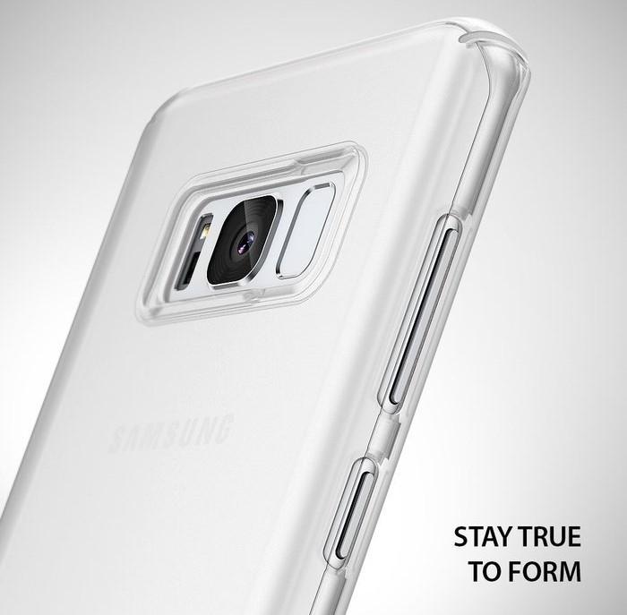 Husa Ringke Slim Frost White pentru Samsung Galaxy S8 Plus 2
