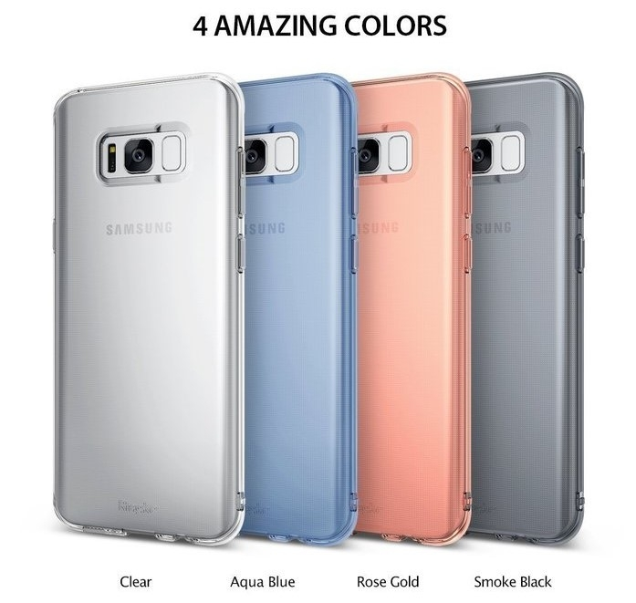 Husă Ringke Air Aqua Blue pentru Galaxy S8 5
