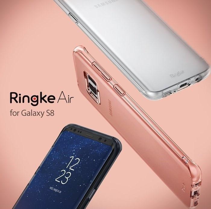 Husă Ringke Air Aqua Blue pentru Galaxy S8 6