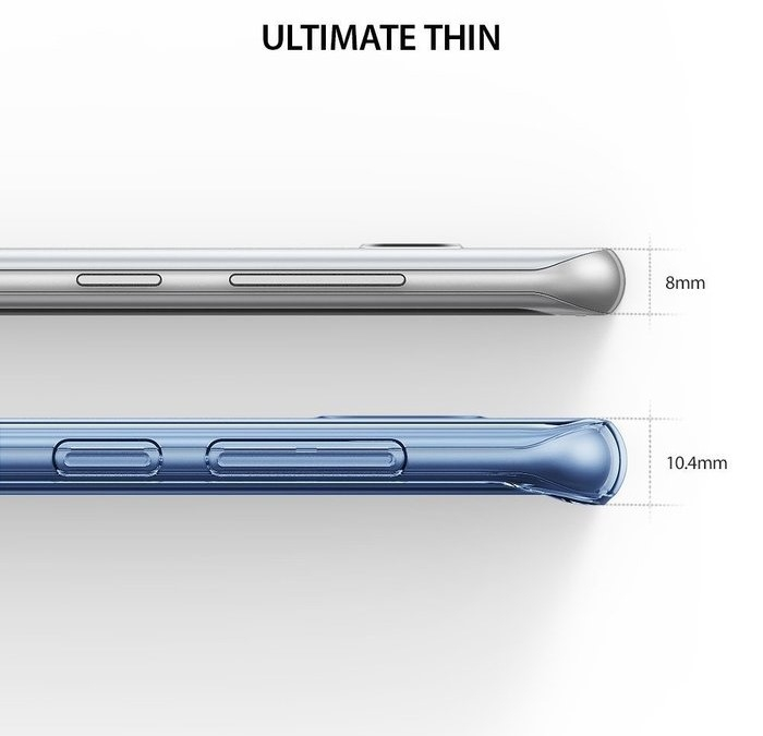 Husă Ringke Air Aqua Blue pentru Galaxy S8 7
