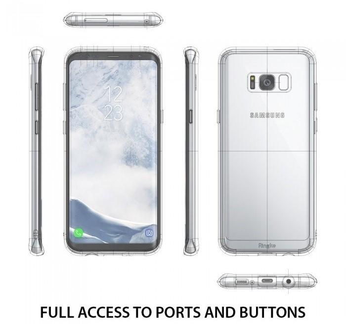 Husa Ringke Fusion Clear pentru Samsung Galaxy S8 3