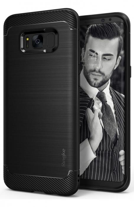 Husa Ringke Onyx Black pentru Samsung Galaxy S8 0