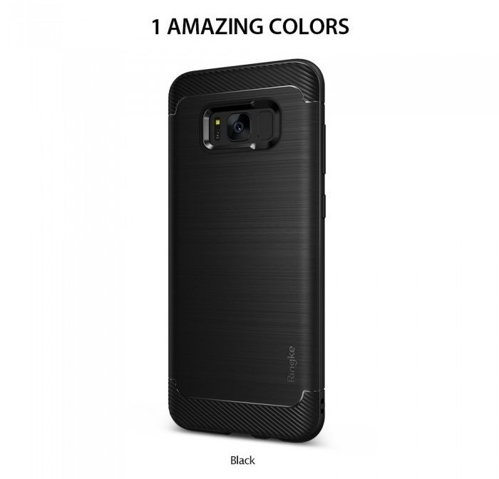 Husa Ringke Onyx Black pentru Samsung Galaxy S8 2