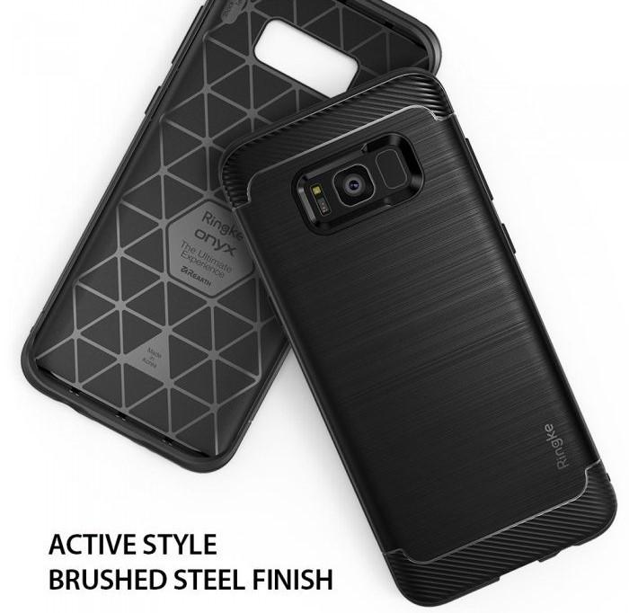 Husa Ringke Onyx Black pentru Samsung Galaxy S8 4