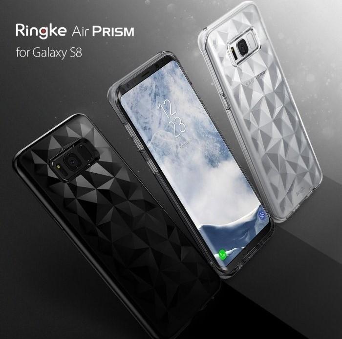 Husa Ringke Prism Clear pentru Samsung Galaxy S8 6