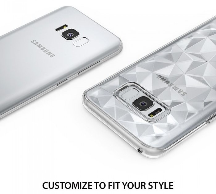 Husa Ringke Prism Clear pentru Samsung Galaxy S8 5