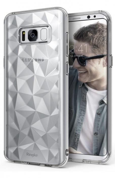 Husa Ringke Prism Clear pentru Samsung Galaxy S8 0