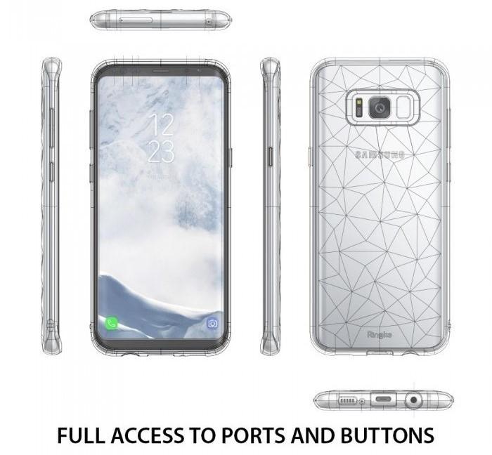 Husa Ringke Prism Ink Black penmtru Samsung Galaxy S8 2