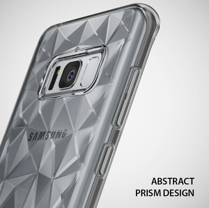 Husa Ringke Prism Smoke Black pentru Samsung Galaxy S8 5