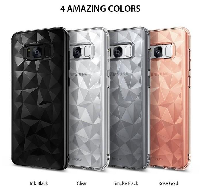 Husa Ringke Prism Smoke Black pentru Samsung Galaxy S8 1