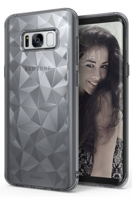 Husa Ringke Prism Smoke Black pentru Samsung Galaxy S8 0