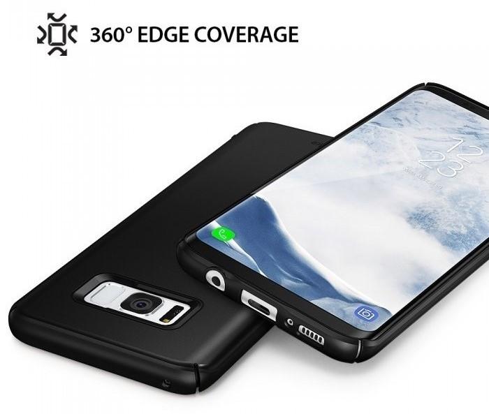 Husa Ringke Slim Black pentru Samsung Galaxy S8 5
