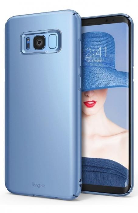 Husa Ringke Slim Blue Pearl pentru Samsung Galaxy S8 0