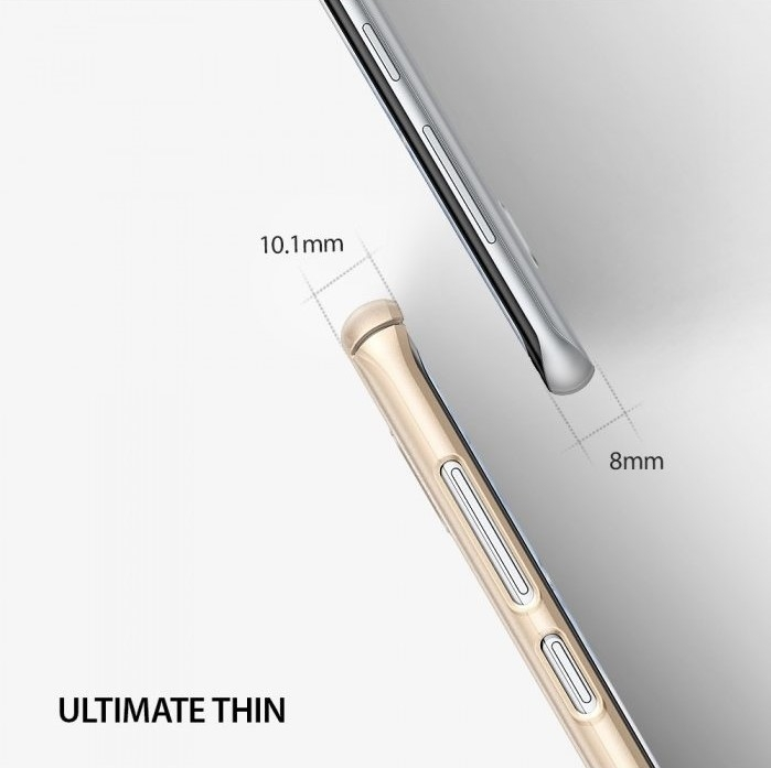 Husa Ringke Slim Blue Pearl pentru Samsung Galaxy S8 3