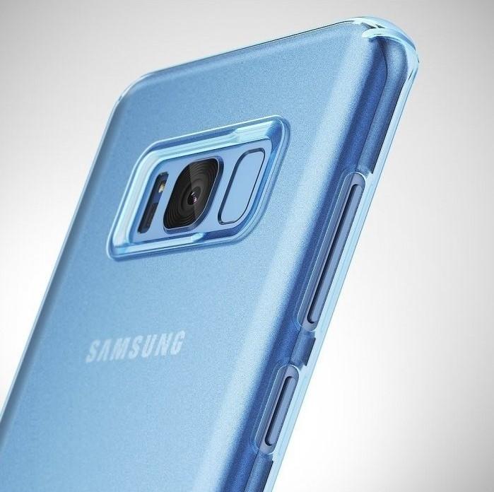 Husa Ringke Slim Frost Blue pentru Samsung Galaxy S8 1