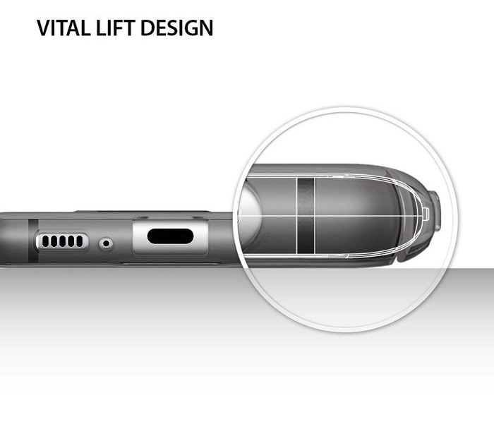 Husa Samsung Galaxy S8 Ringke Slim Frost Gray 7