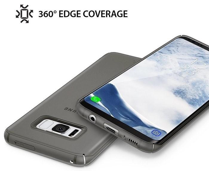 Husa Samsung Galaxy S8 Ringke Slim Frost Gray 2