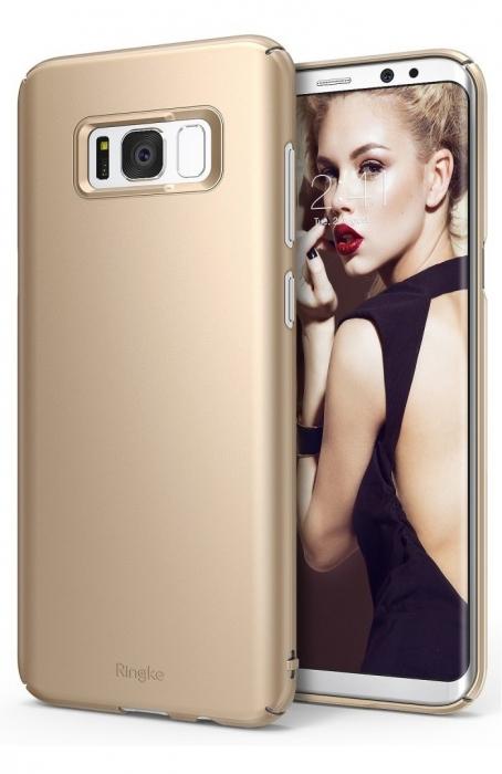 Husa Ringke Slim Royal Gold pentru Samsung Galaxy S8 0