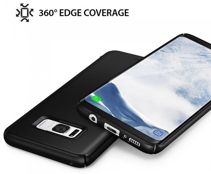 Husa Ringke Slim Royal Gold pentru Samsung Galaxy S8 5