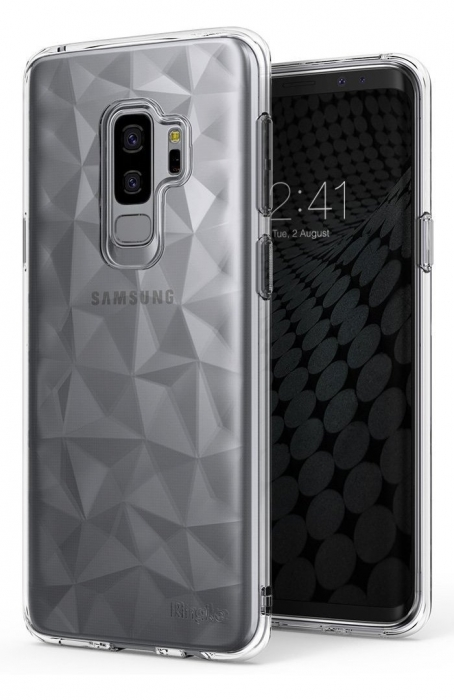 Husa Ringke Air Prism Grey pentru Samsung Galaxy S9 Plus 2