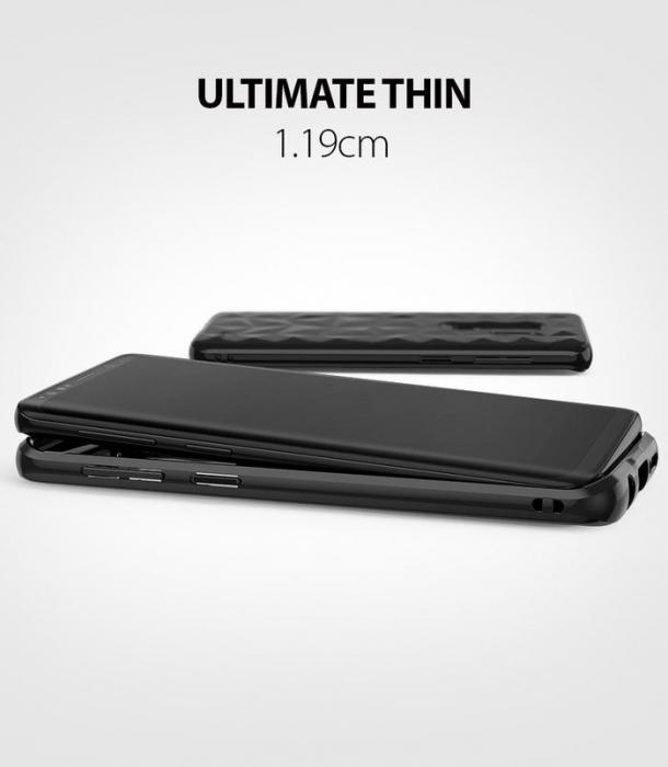 Husa Ringke Air Prism Black pentru Samsung Galaxy S9 Plus 5