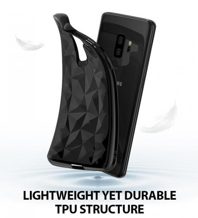 Husa Ringke Air Prism Black pentru Samsung Galaxy S9 Plus 4