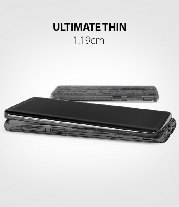 Husa Ringke Air Prism Grey Glitter pentru Samsung Galaxy S9 Plus 6