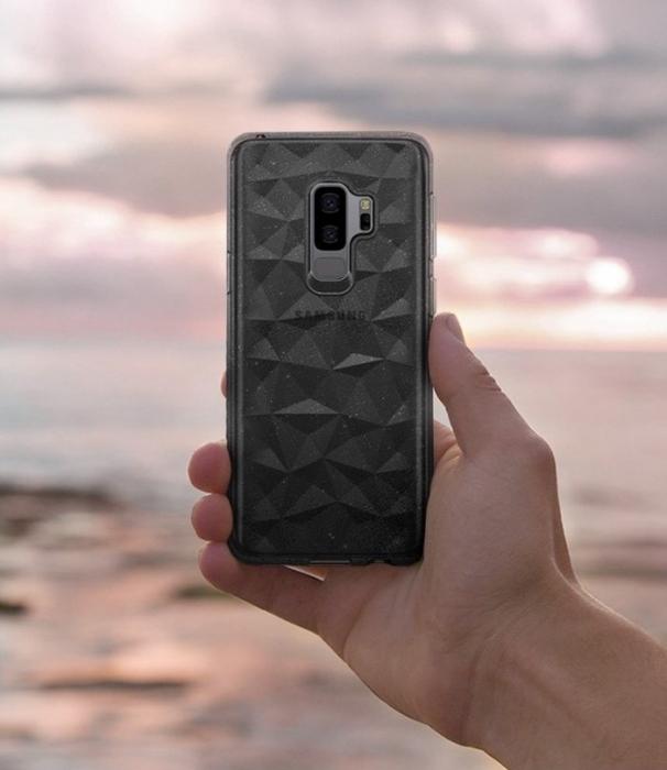 Husa Ringke Air Prism Grey Glitter pentru Samsung Galaxy S9 Plus 5