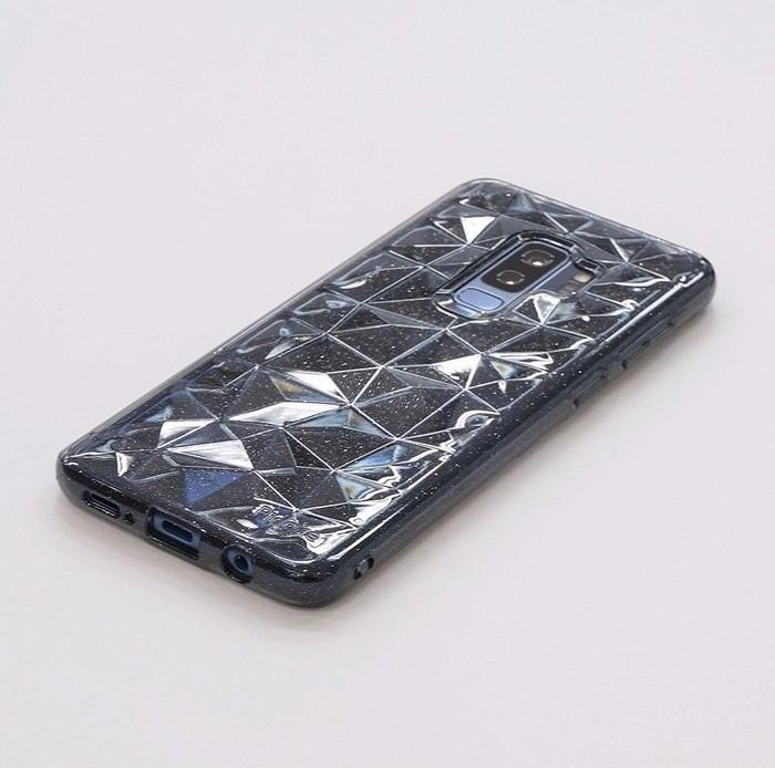 Husa Ringke Air Prism Grey Glitter pentru Samsung Galaxy S9 Plus 3