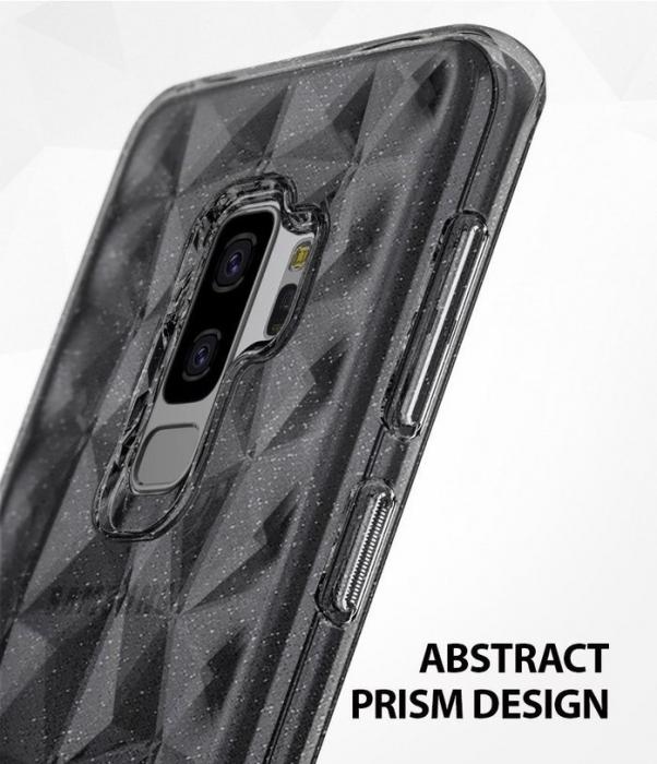 Husa Ringke Air Prism Grey Glitter pentru Samsung Galaxy S9 Plus 2