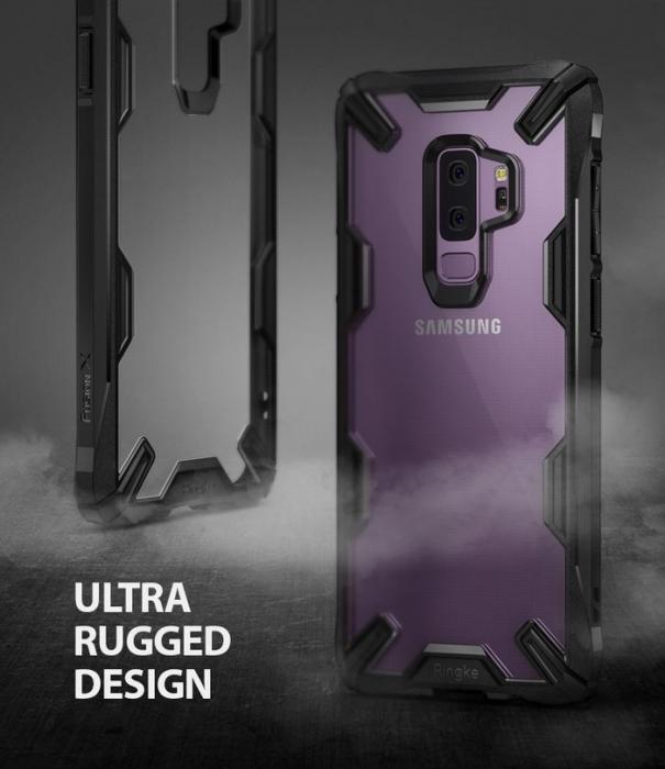 Husa Ringke FUSION X Mov pentru Samsung Galaxy S9 Plus 1