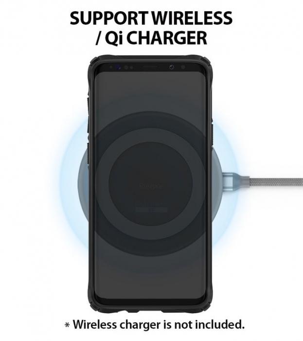 Husa Ringke FUSION X Mov pentru Samsung Galaxy S9 Plus 4