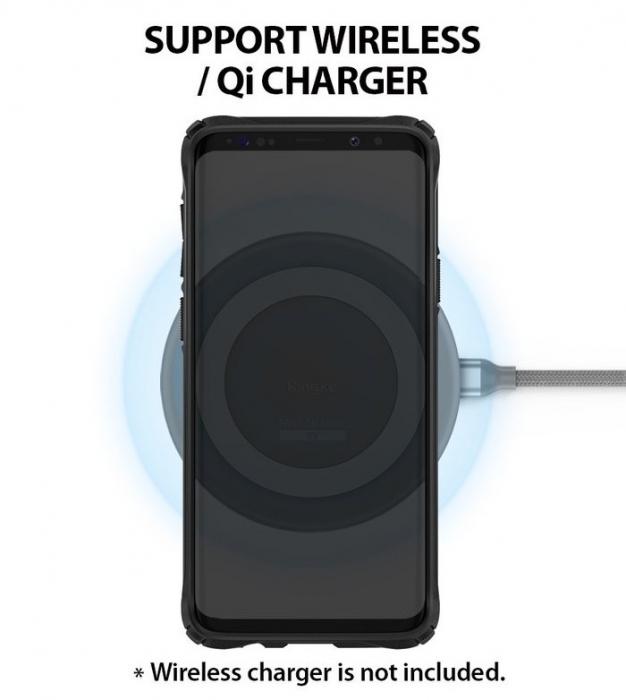 Husa Ringke FUSION X Mov Transparent pentru Samsung Galaxy S9 Plus 5