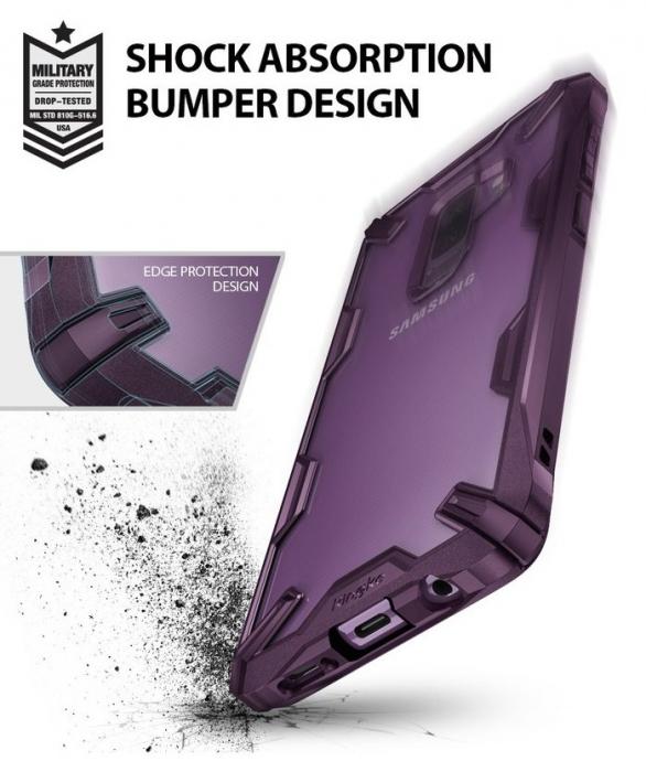 Husa Ringke FUSION X Mov Transparent pentru Samsung Galaxy S9 Plus 4