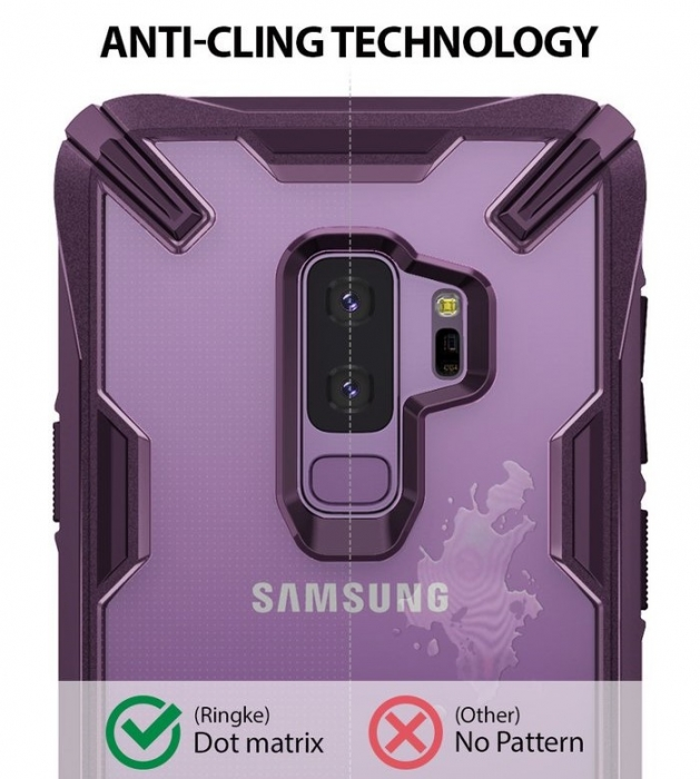 Husa Ringke FUSION X Mov Transparent pentru Samsung Galaxy S9 Plus 2