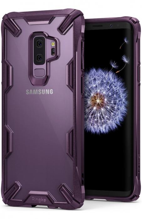 Husa Ringke FUSION X Mov Transparent pentru Samsung Galaxy S9 Plus 1