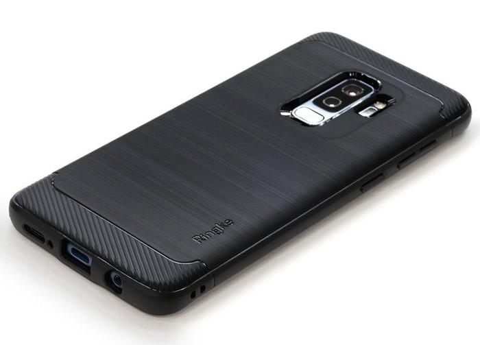 Husa Ringke Onyx Black pentru Samsung Galaxy S9 Plus 4