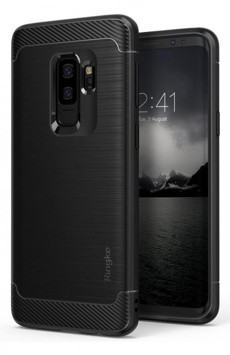 Husa Ringke Onyx Black pentru Samsung Galaxy S9 Plus 0