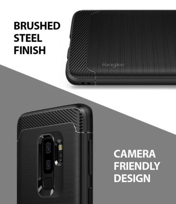 Husa Ringke Onyx Black pentru Samsung Galaxy S9 Plus 5