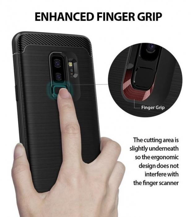Husa Ringke Onyx Black pentru Samsung Galaxy S9 Plus 6