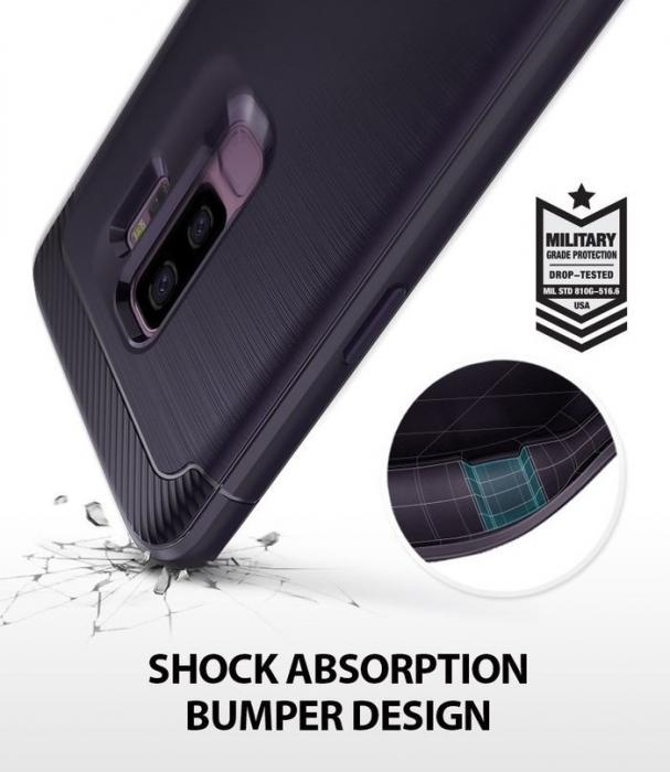 Husa Ringke Onyx Violet pentru Samsung Galaxy S9 Plus 3