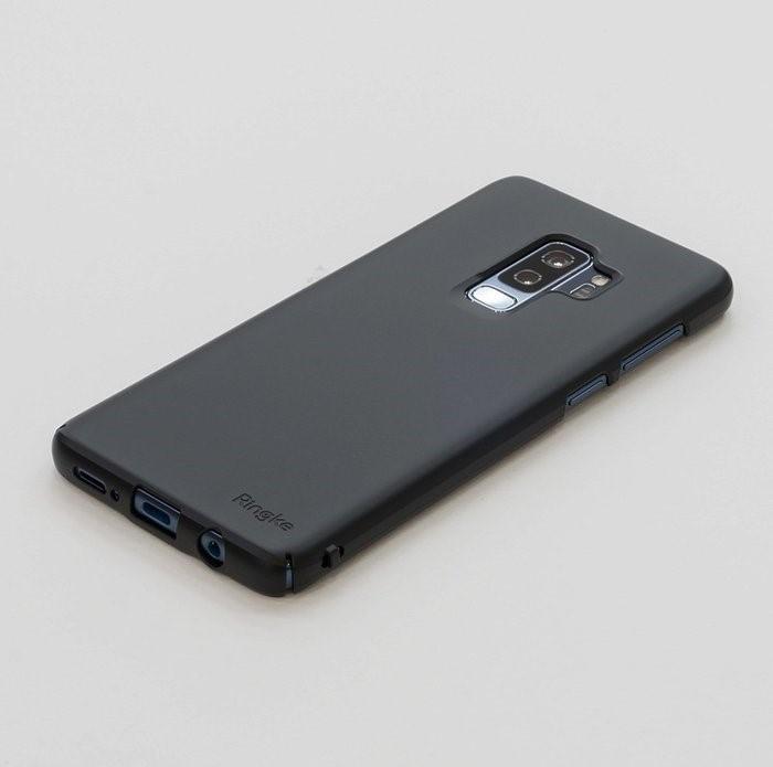 Husa Ringke Slim Black pentru Samsung Galaxy S9 Plus 0