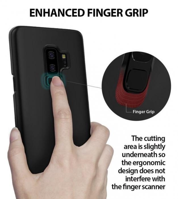 Husa Ringke Slim Black pentru Samsung Galaxy S9 Plus 6