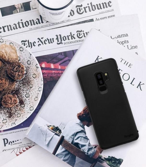 Husa Ringke Slim Black pentru Samsung Galaxy S9 Plus 7