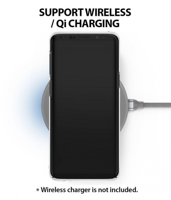 Husa Ringke Slim White pentru Samsung Galaxy S9 Plus 5