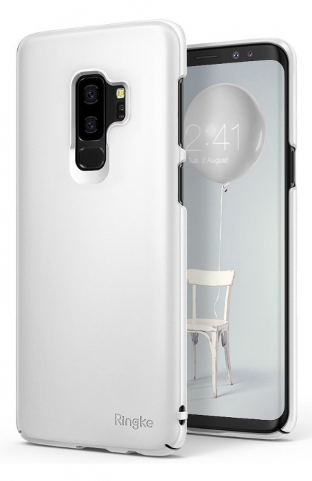 Husa Ringke Slim White pentru Samsung Galaxy S9 Plus 2